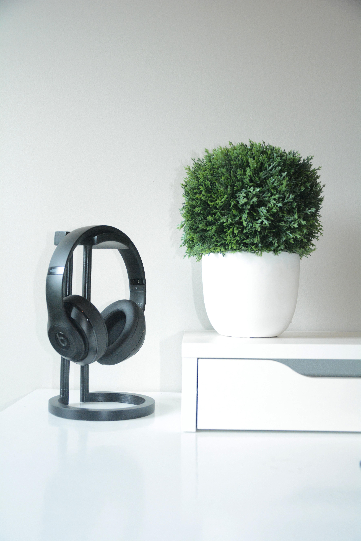 fb5d5dcddc0 Infinity Headphone Stand 3D model 3D printable STL PDF F3D