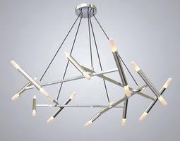 3D model decoration Le Petite Pentagone Chandeliers
