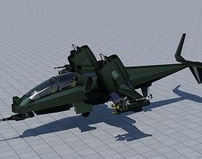 3D model Gunner Vtol