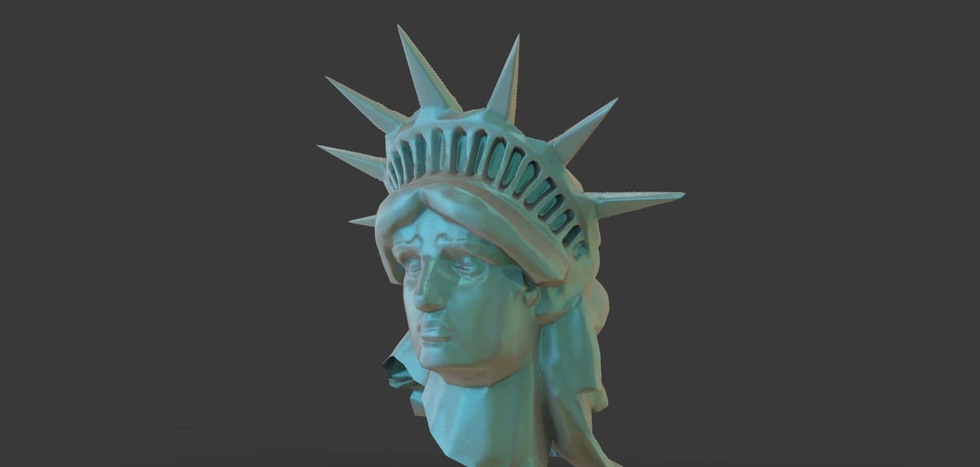 3D model Statue Of Liberty Head | CGTrader
