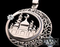 Mosque 3D print model