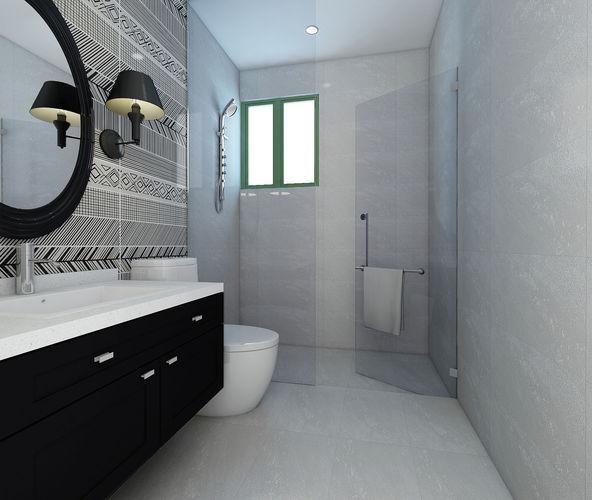 bathroom design version 01 3d model max 1