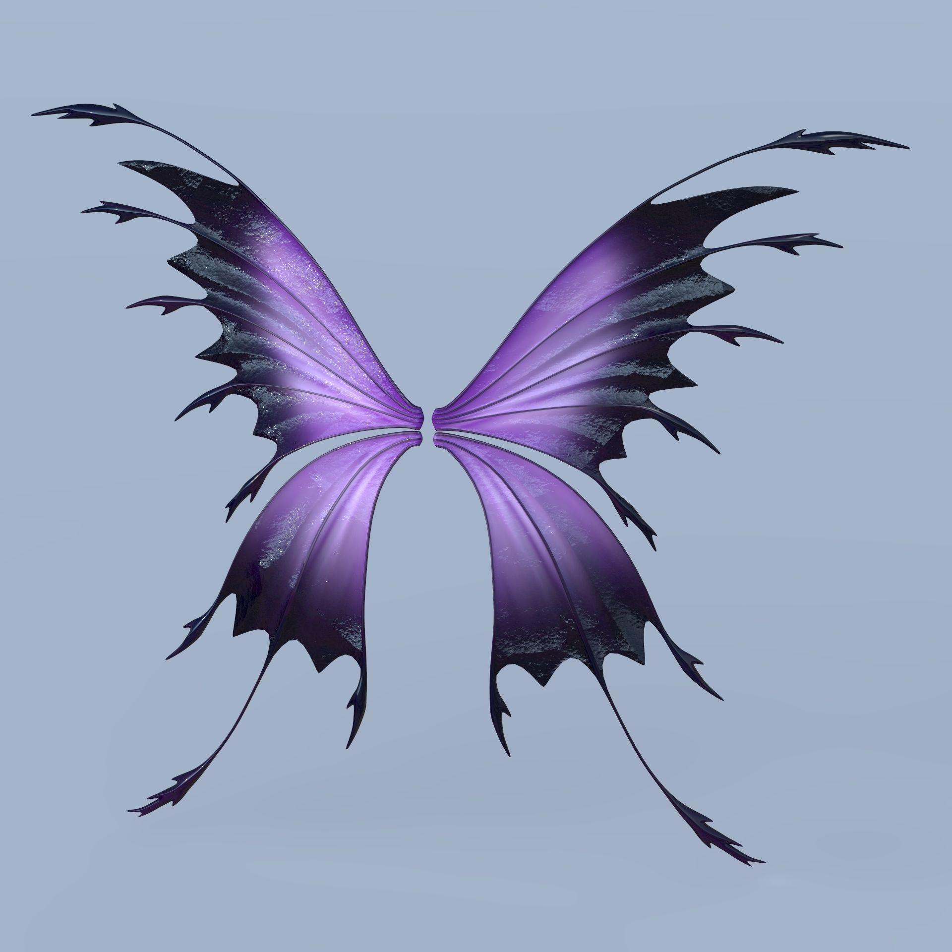 Fairy or Butterfly Wings Set C