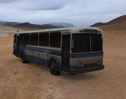 bus public transport 3D model