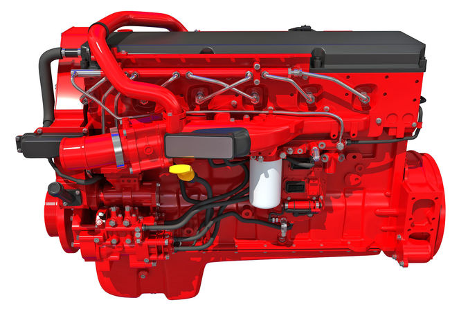 truck engine - 3d models 3d model max obj mtl 3ds c4d lwo lw lws ma mb 1