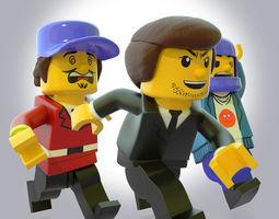 LEGO CHARACTER PLUS BONUS 3D