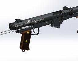 3D model 9mm Submachinegun