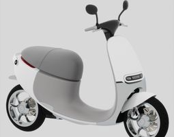 GOGORO electro scooter 3D