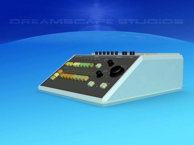 roland cr-5000 3d model max obj mtl 3ds lwo lw lws w3d u3d 1