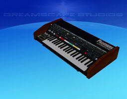 Roland ProMars Synthesizer 3D
