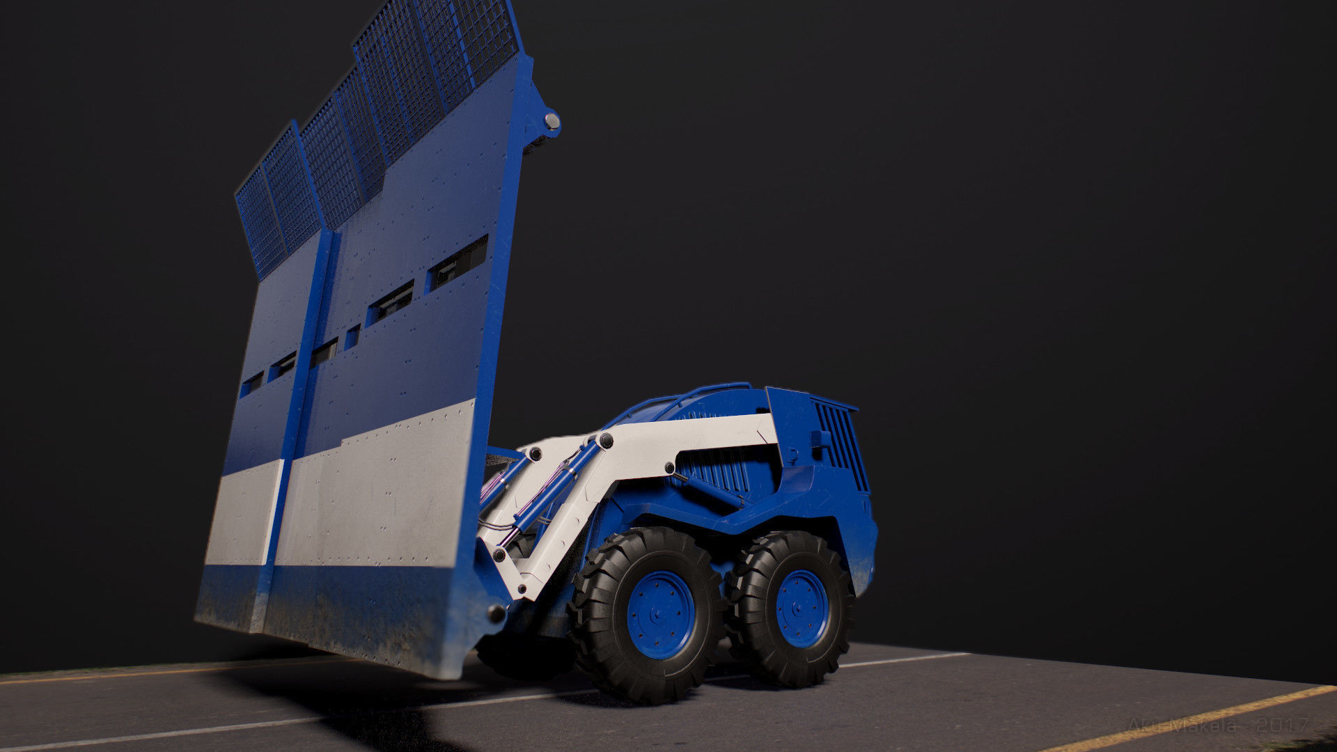 Riot Control Vehicle