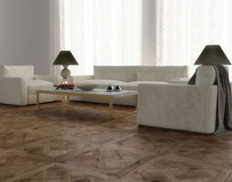 3d model boston furniture set