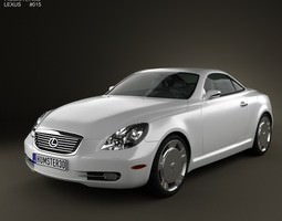 3D Lexus SC Z40 2007