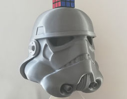 WEARABLE FULL SIZE STORMTROOPER HELMET BY 3D print model 2