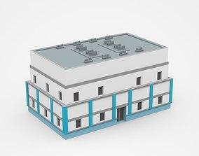 residential 3D model Industrial Building