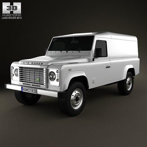 land rover defender 110 hardtop 2011 3d model max obj mtl 3ds fbx c4d lwo lw lws 1