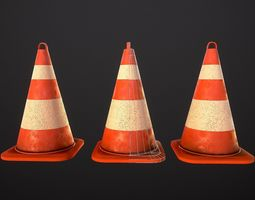 Street cone 3D model