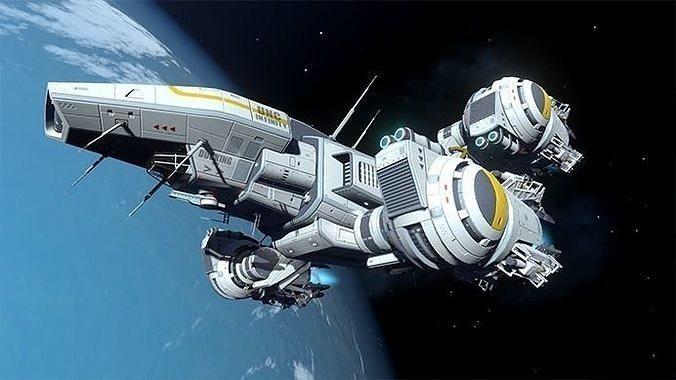 scifi kit vol 3 3d model unitypackage prefab 1