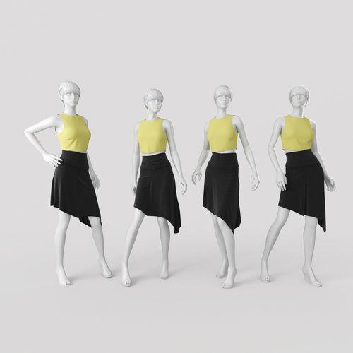 Woman Mannequin 43D model