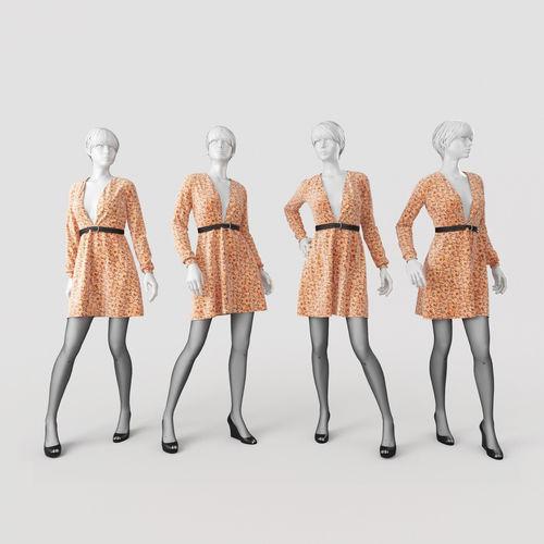 Woman Mannequin 53D model