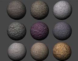 3D Stucco Textures Pack 5