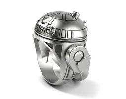R2 D2 DROID Ring 3D print model