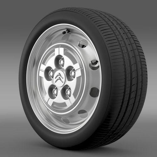 Citroen Jumper Van wheel3D model