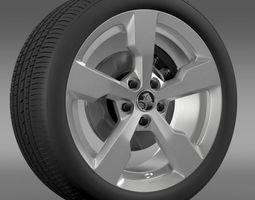 Holden Volt wheel 3D Model