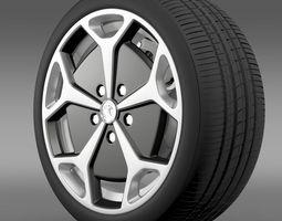 Vauxhall Ampera wheel 3D Model