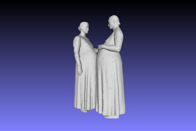 printle couple 049 3d model obj mtl ply 1