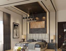 bedroom 3D model Master Bedroom
