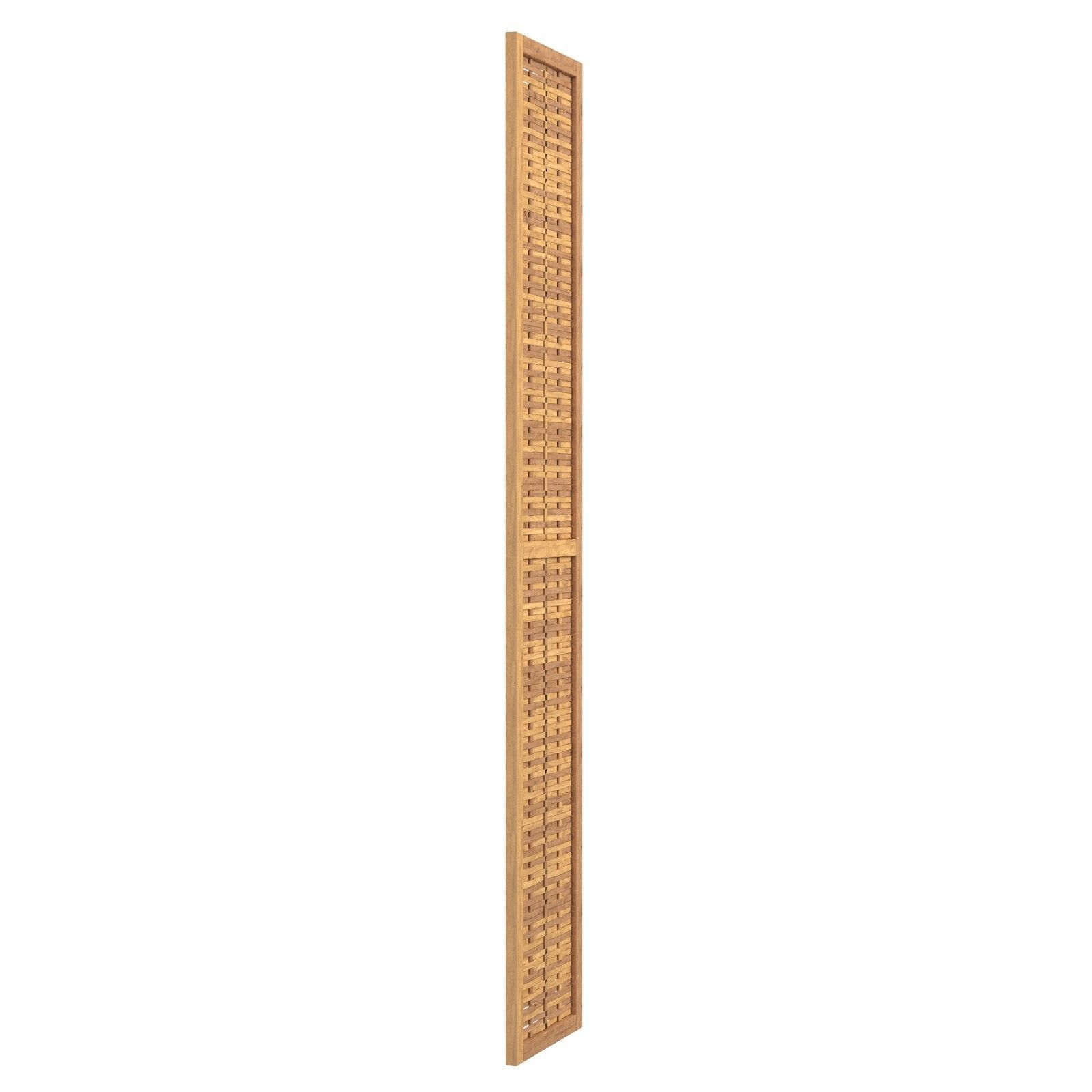 East Haven Bamboo Screen 3 Panel Room Divider Bcmh2264 3D