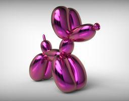 Jeff Koons Baloon Dog 3D printable model
