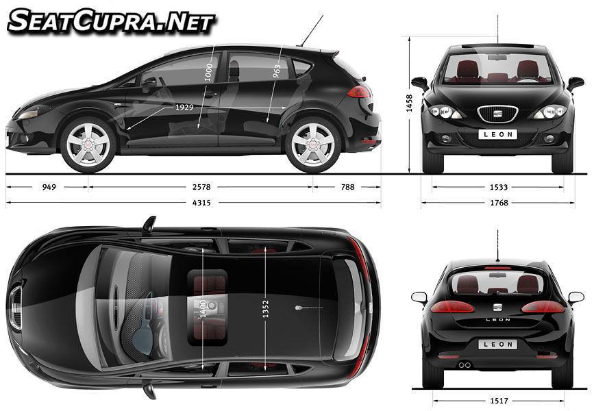 Car blueprints free 3D model