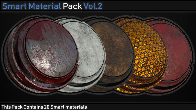 smart material pack vol 2 3d model sbs 1
