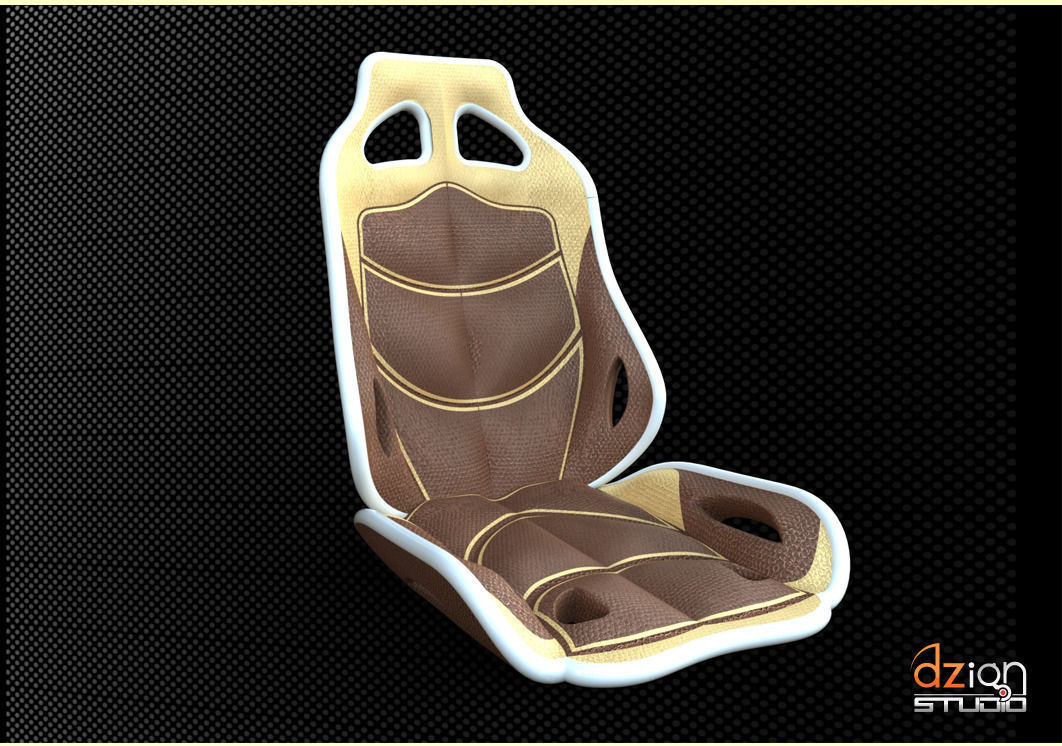 chair for interior car concept free 3d model sldprt sldasm slddrw. Black Bedroom Furniture Sets. Home Design Ideas