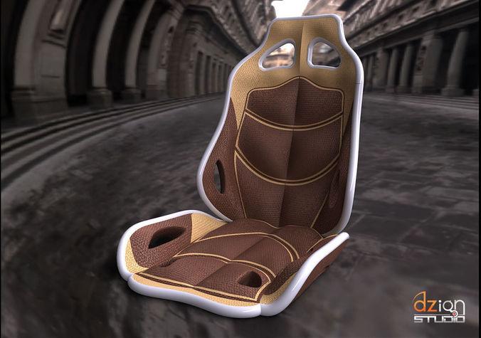 chair for interior car concept free 3d model sldprt sldasm slddrw. Black Bedroom Furniture Sets. Home Design Ideas