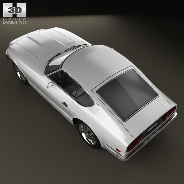 New Datsun Models: Datsun 240Z 1970 3D Model .max .obj .3ds .fbx .c4d .lwo