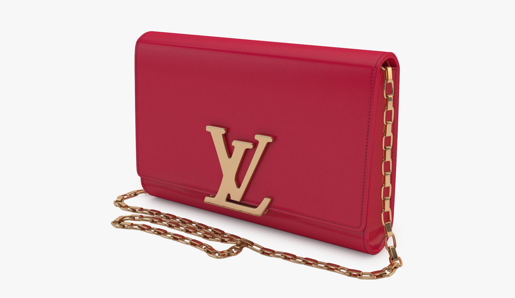 Louis Vuitton Bag 08 3d Model Max Obj 3ds Fbx