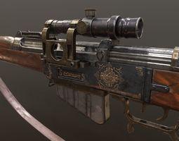 Gewehr Kennzeichen 06 3D asset