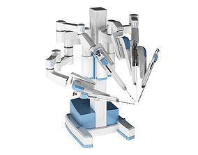 3D clinic Surgical Robotic System da Vinci SI