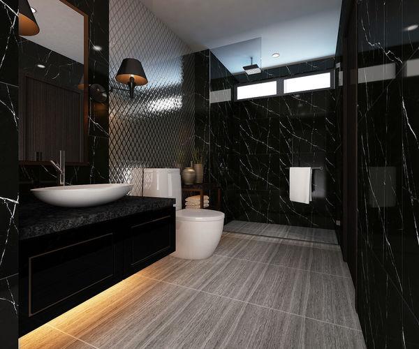 bathroom design version 02 3d model max 1