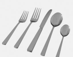3D model Cutlery 02