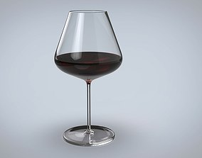 table Wine glass 3D model