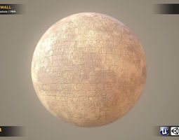 3D model High Realistic Wall Texture