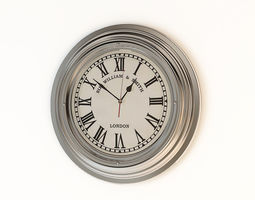 Eichholtz 03810 Sir William Clock 3D model