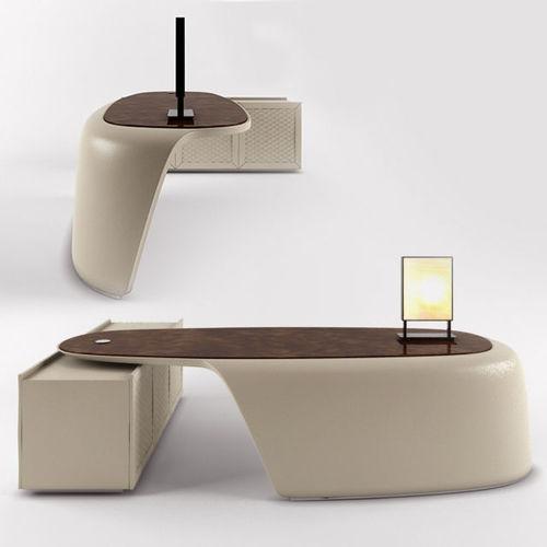 bentley office desk 3d model max fbx 1