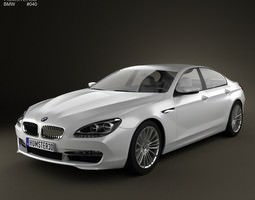 BMW 6 Series Gran Coupe F14 2012 3D Model