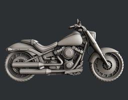 3d STL models for CNC Motorcycle