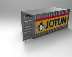 other 20ft Container 1 3D model